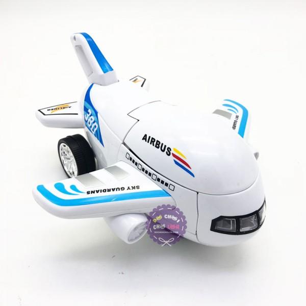 8995 1024 do choi may bay bien hinh robot airbus co den nhac