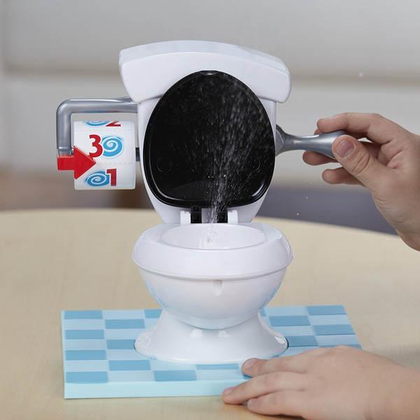 Tro choi bon cau rac roi Toilet Trouble 3