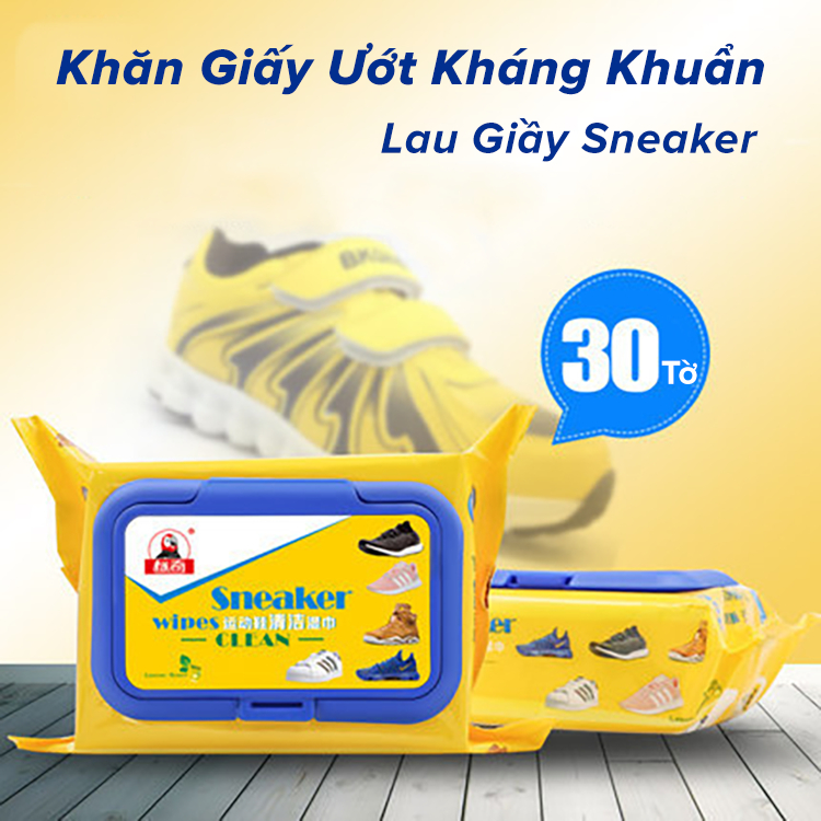 Giấy Ướt Lau Giày Sneaker
