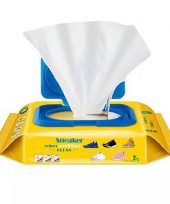 khăn giấy ướt chùi giàu