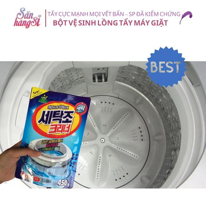 Bột Vệ Sinh Tẩy Lồng Máy Giặt